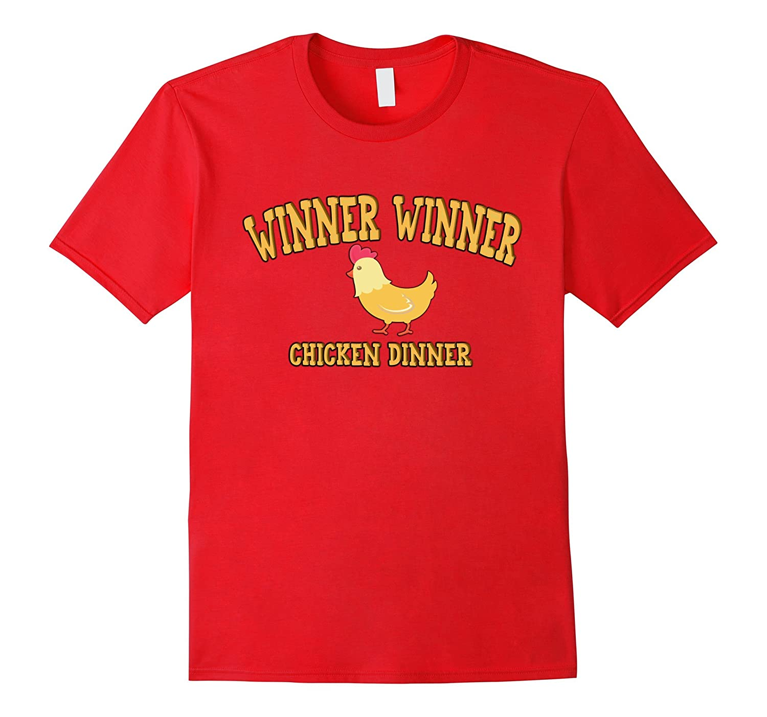 Winner Winner Chicken Dinner Tee Shirt - Battleground Tees-FL