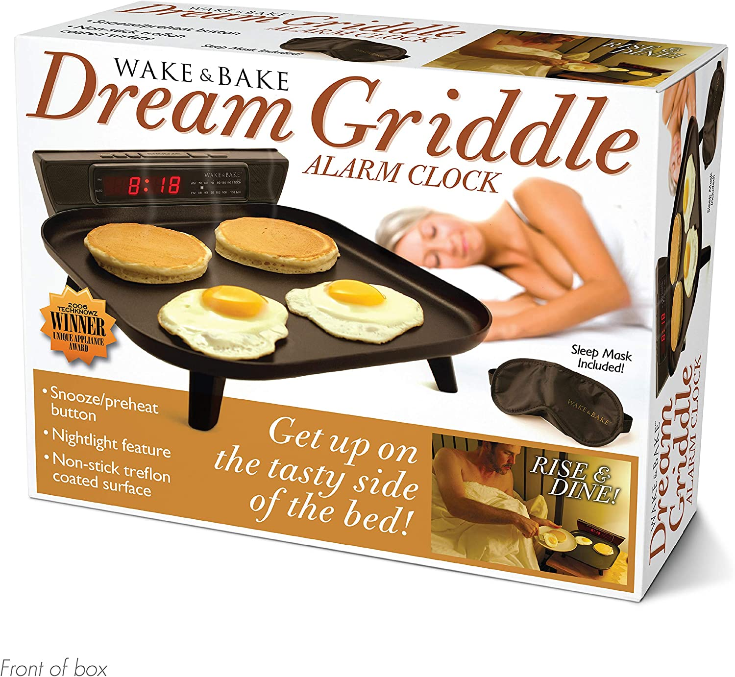 """Prank Pack """"Wake & Bake Griddle"""" - Wrap Your Real Gift in a Prank Funny Gag Joke Gift Box - by Prank-O - The Original Prank Gift Box   Awesome Novelty Gift Box for Any Adult or Kid!"""