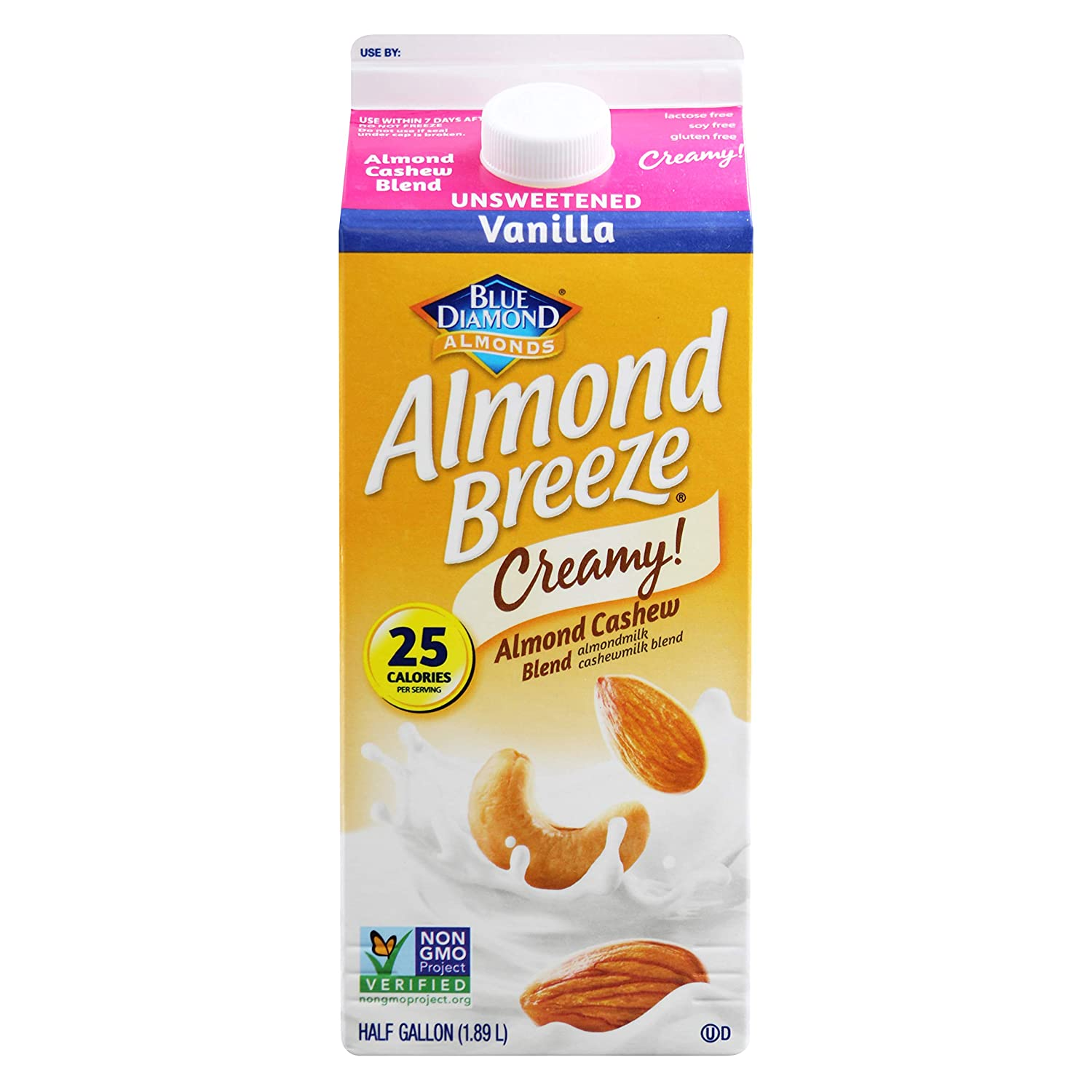 Blue Diamond Vanilla Almond Milk Nutritional Info ...