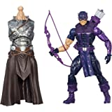 Boneco Marvel Legends Build a Figure Hawkeye HQ Hasbro B0438