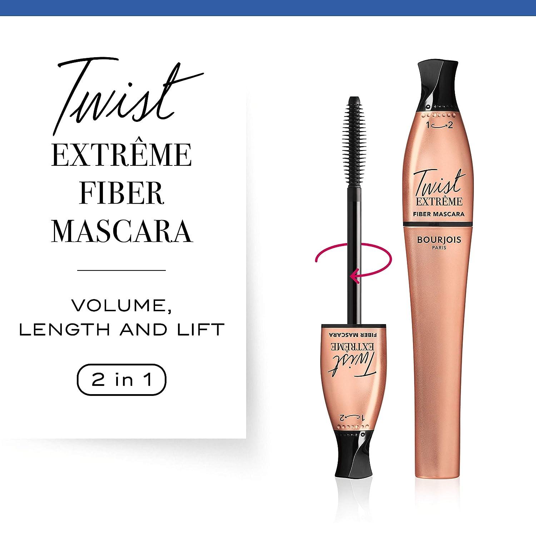 Amazon.com : Bourjois Paris Twist Extreme Fiber Mascara 8ml - 24