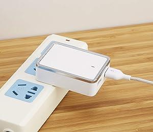 Blackweb Dual-Port USB Wall Charger with Micro USB Cable