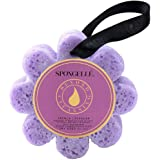 Spongelle French Lavender Beyond Cleansing Body Wash Infused Buffer 3 oz