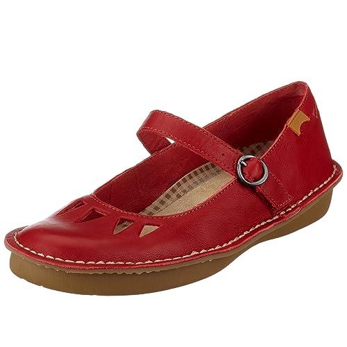 Camper zapatos con Hebilla de Cuero para mujer