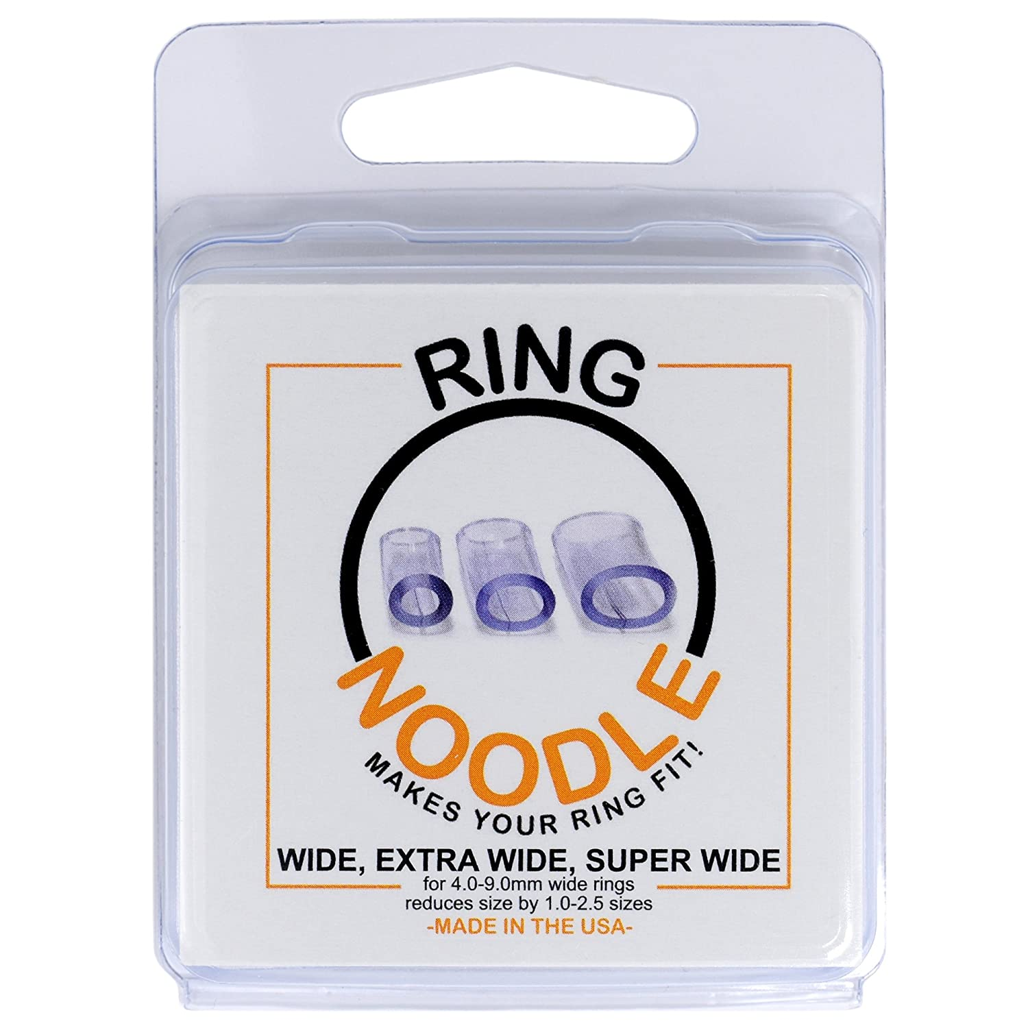 RING NOODLE: Ring Size Reducer | Ring Guard | Ring Size Adjuster. Size: Petite, for rings 1.5-2.5 mm wide. Premier Gem Consultants Inc. RN-p