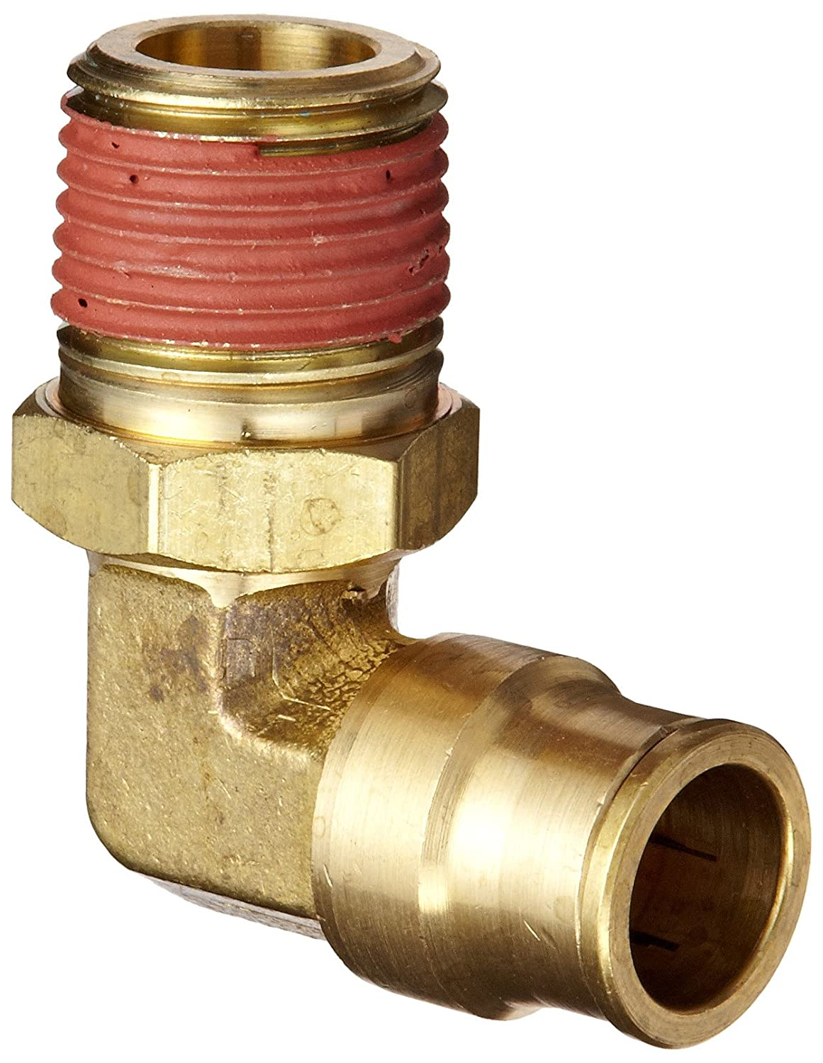 Swivel Elbow Dixon 69S8X4 Forged Brass Push-to-Connect Air Tube Fitting 1//4 Tube OD x 1//8 NPTF Male 1//4 Tube OD x 1//8 NPTF Male Dixon Valve /& Coupling
