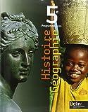 Histoire Géographie 5e : Programme 2010, format compact