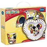 Disney 736095 - Topolino Set 3 Pezzi in Melamina in Confezione Regalo, 27x25x10 cm