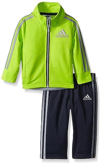 Adidas Boys Tricot Giacca E Pantaloni Serie Tuta: Abbigliamento