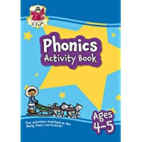 New Phonics Activity Book for Ages 4-5: perfect for home learning