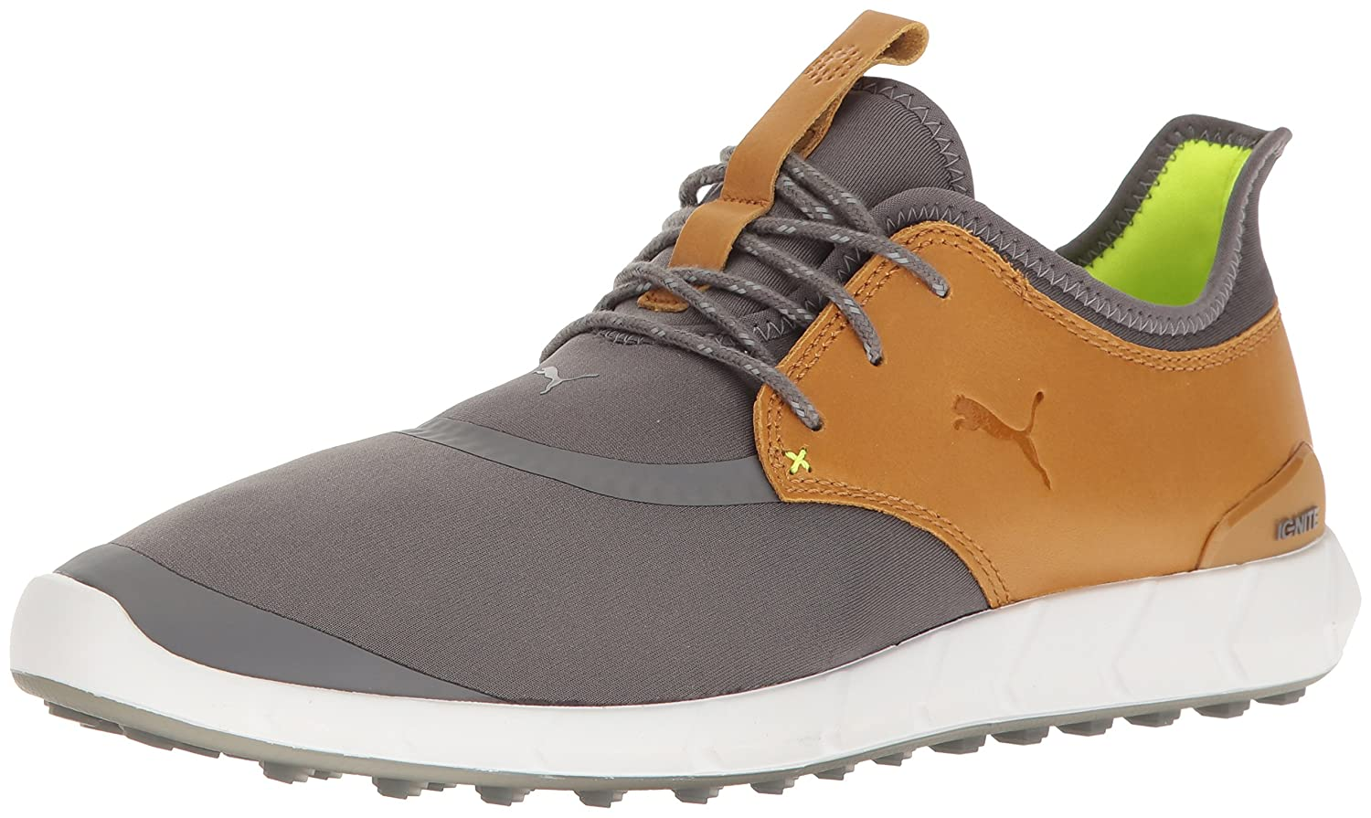 Puma Mens Ignite Spikeless Sport Golf Shoe  12 D(M) US Smoked Pearl-cathay Spice