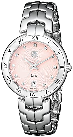 TAG Heuer reloj WAT1313. BA0956 enlace analógico cuarzo plata para las mujeres