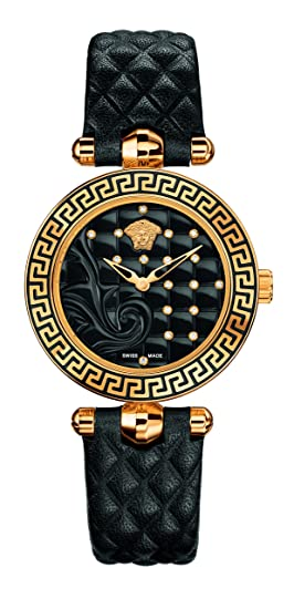 cde541e1 Versace Women's Vanitas Micro Swiss Quartz Stainless Steel and ...