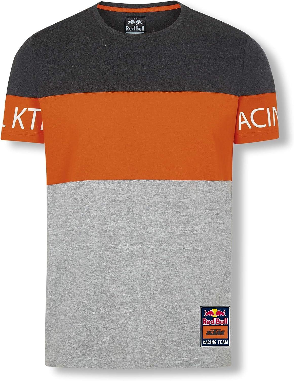 Red Bull KTM Letra Block T-Camisa, Gris Hombres XXX-Large Camisa manga larga, Red Bull KTM Factory Racing Original ropa & accesorios