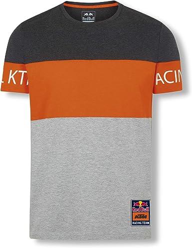 Red Bull KTM Letra Block T-Camisa, Gris Hombres XXX-Large Camisa Manga Larga, KTM Factory Racing Original Ropa & Accesorios: Amazon.es: Ropa y accesorios
