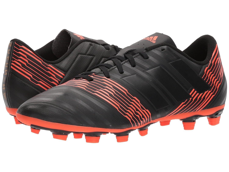 (アディダス) adidas メンズサッカーシューズ靴 Nemeziz 17.4 FG Black/Black/Solar Red 6.5 (24.5cm) D Medium B07BQGHSJZ