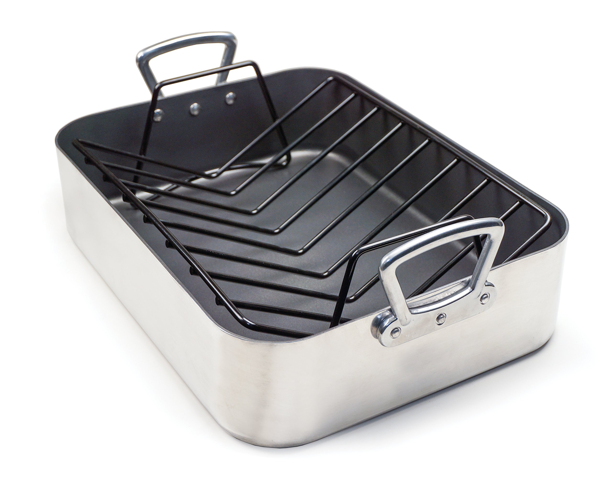 RSVP International RLP Hercules Roasting & Lasagna Pan, One Size, Multi Color by RSVP International