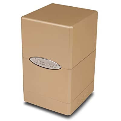 Ultra Pro 84601 Satin Tower Deck Box, Caramel: Garden & Outdoor