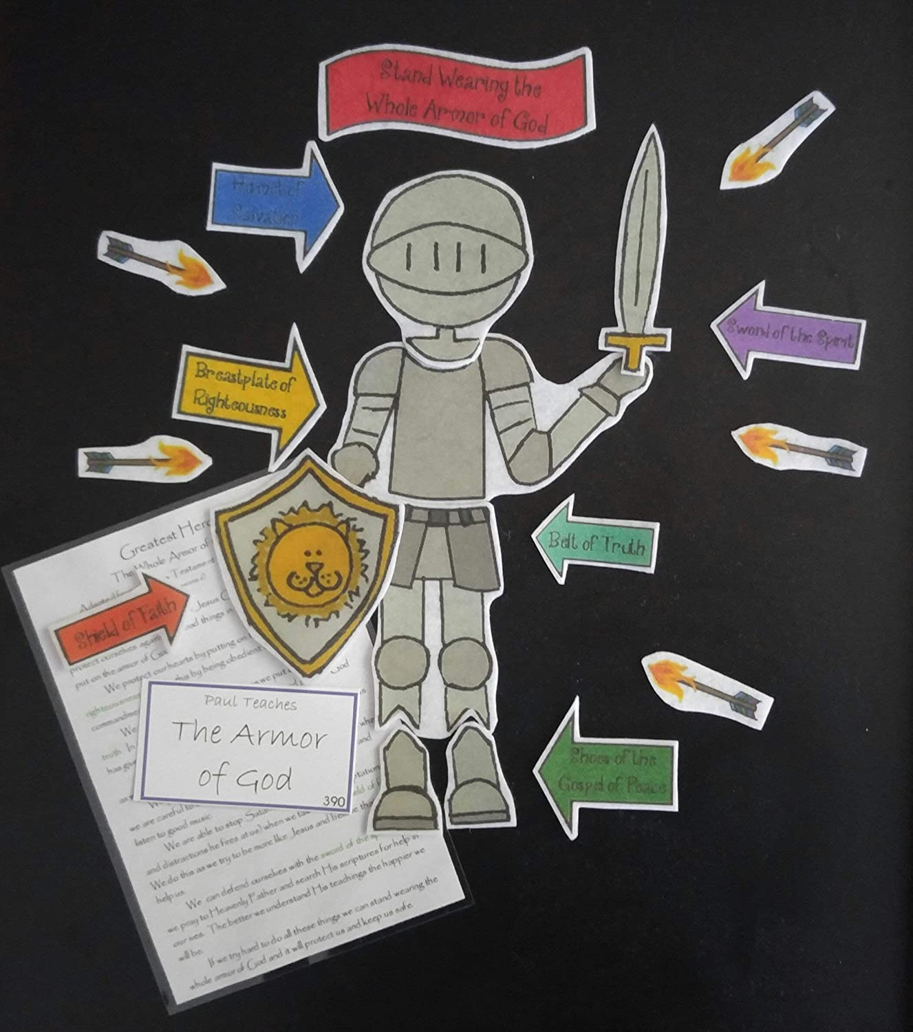 Armor of God Flannel Board Story