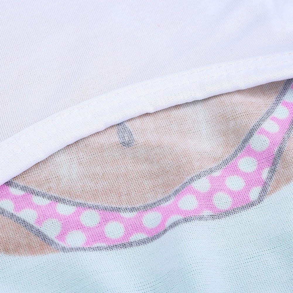 wlgreatsp Dog Summer Stylish Ventilate Dogs T-Shirt Vest Chest Bikini Casual Clo
