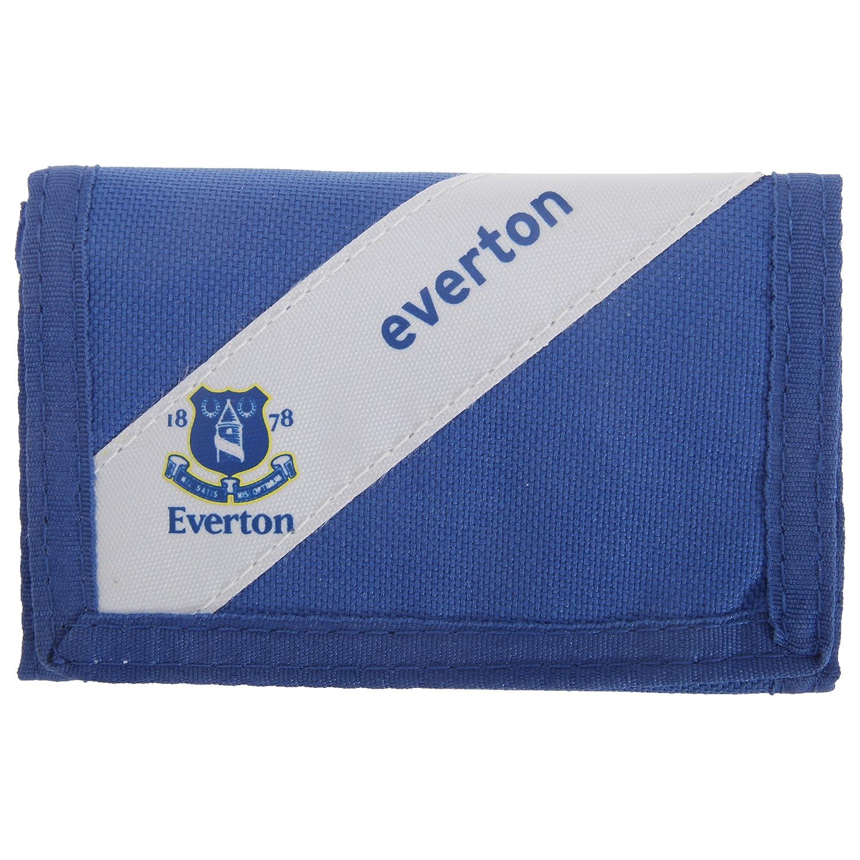 Everton FC oficial de rayas diseño con escudo de cartera de ...
