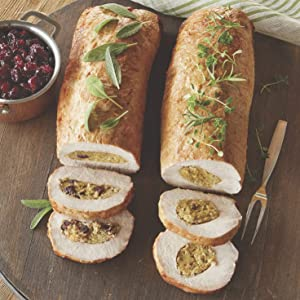 Cranberry Stuffed Pork Loin Roast, 4 lb. Roast from The Swiss Colony