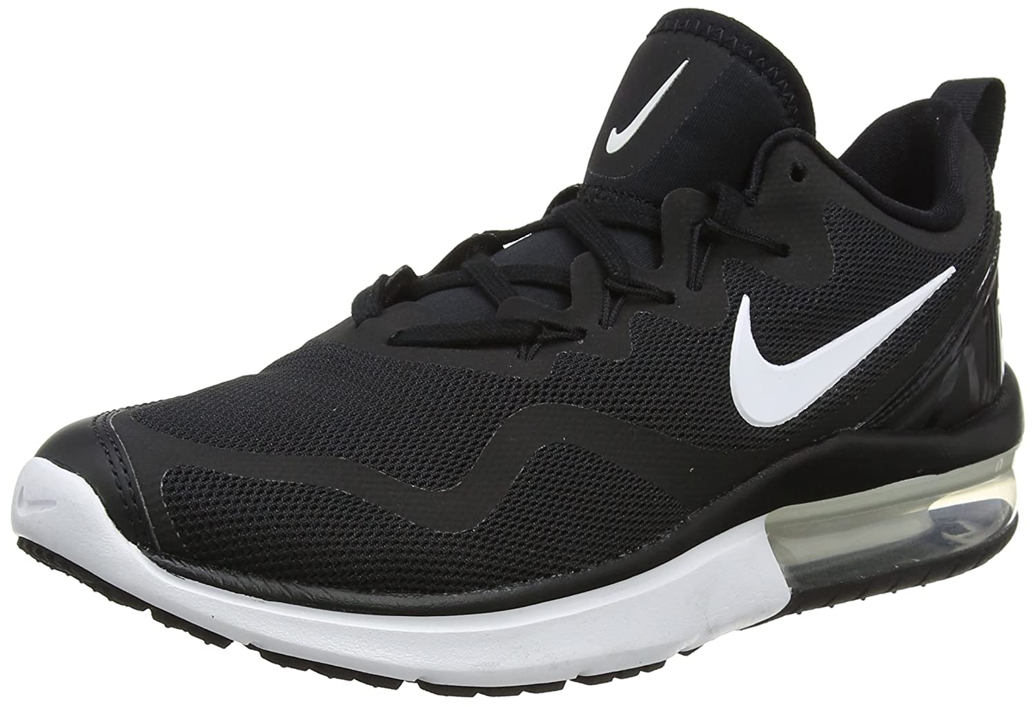 NIKE Men's Air Max Fury Running Shoe B071G23LQR 9.5 D(M) US|Black/White Black
