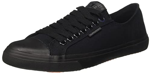 Low Pro Sleek, Zapatillas de Gimnasia para Hombre, Azul (Dark Navy), 43 EU Superdry