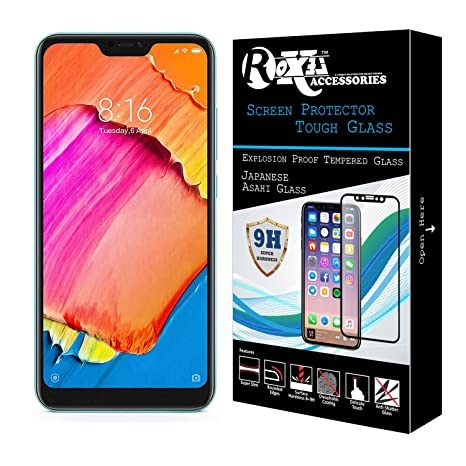 82c89aec93b Roxel for Redmi 6 Pro Screen Protector Lifetime  Amazon.in  Electronics