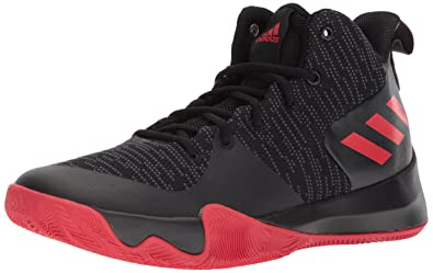 huge discount c33b1 8c4cc adidas Performance Men s Explosive Flash Basketball Shoe, Core Black,  Utility Black, Scarlet,