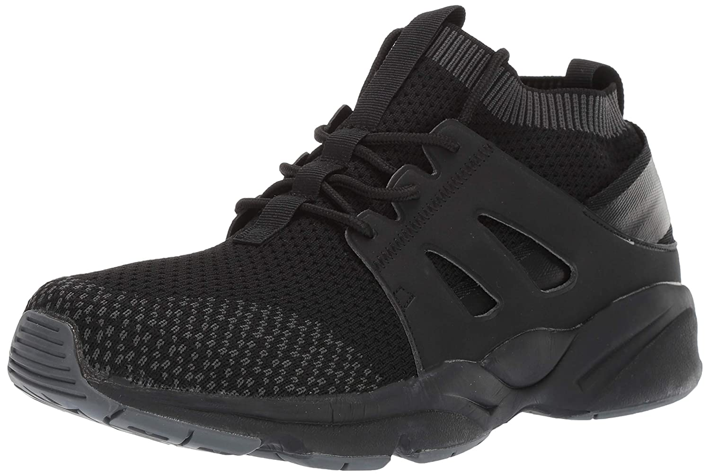 Propet Men's Stability Strider Walking zapatos, negro, 14 E US