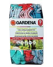 Gardena One Size - Gardening Gloves - Pack of 9 pairs