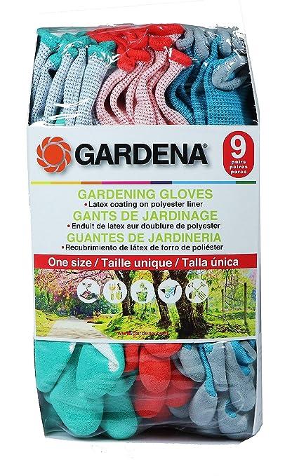 Gardena レディースガーデン手袋 9双セット ラテックスゴム使用