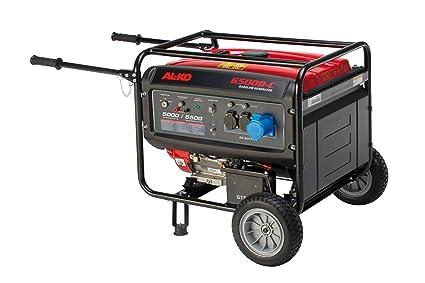 AL-KO 130934 Generador - 2 ruedas para los generadores de energía 6500-C