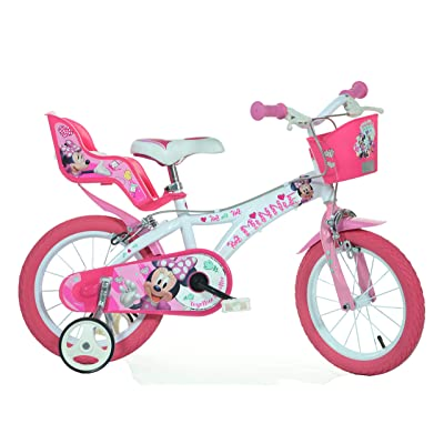 Dino Bikes 614L-NN Mouse Minnie Bicycle, 14-Inch: Toys & Games