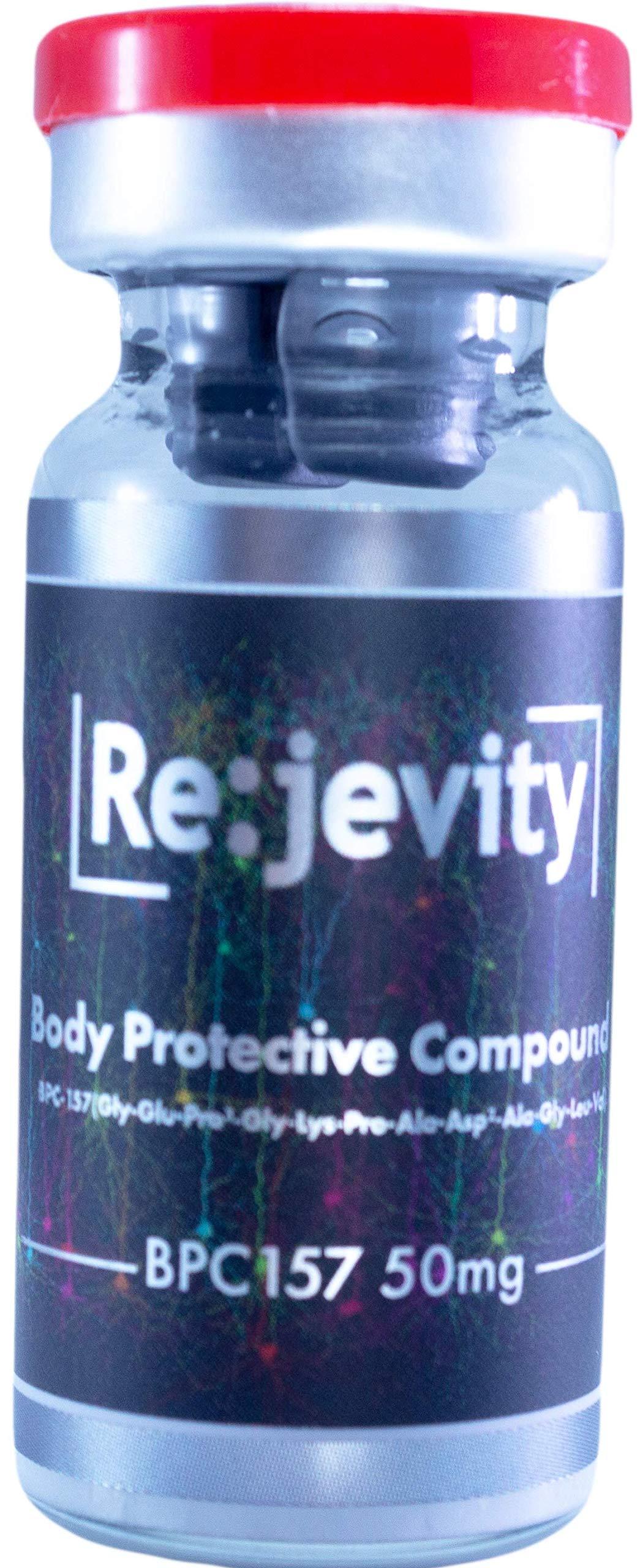 Rejevity BPC-157 50mg (Body Protective Compound) by GroupGanix (Image #1)