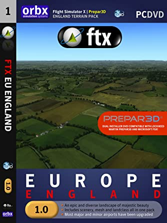 ORBX -- FTX EU England Region for Microsoft Flight Simulator