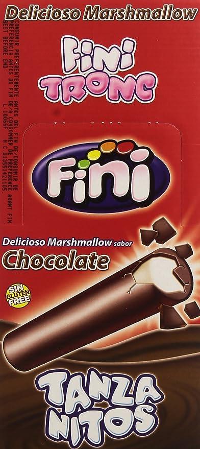 Fini Tronc - Tanzanitos - Espumas dulces con cobertura de sucedáneo de chocolate - 150 unidades: Amazon.es: Alimentación y bebidas