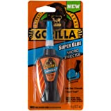 Gorilla Micro Precise Super Glue Gel, 6 Gram, Clear, Pack of 1