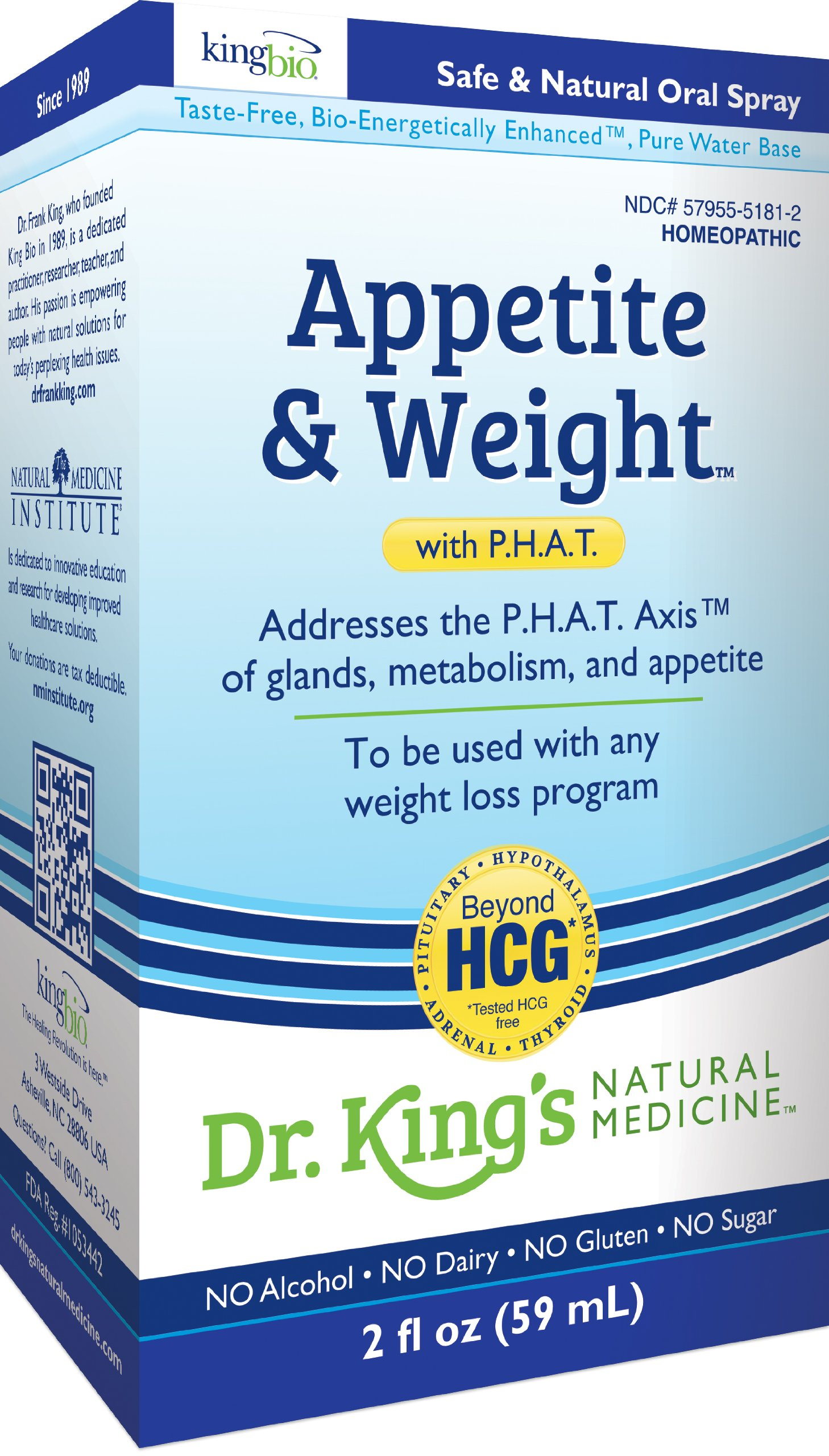 Amazon.com: Dr. King\'s Natural Medicine Appetite and Weight with ...