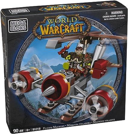 WOW World of Warcraft Flying Machine Mega Bloks 90 Pieces