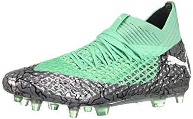 2a575eb6d0 PUMA Mens Future 2.1 Netfit Firm Ground/Artificial Grass Soccer Athletic  Athletic Cleats,