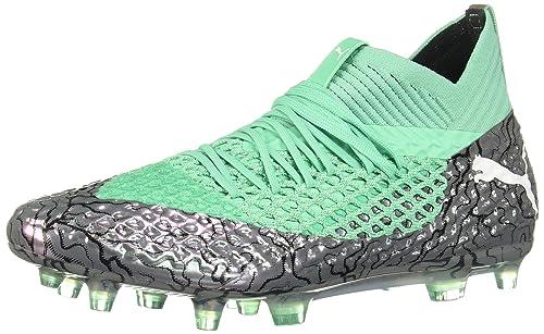 PUMA Mens Future 2.1 Netfit FG/AG Soccer Cleats (Sz. 7.5) Silver