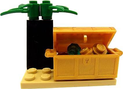 New Lego Keys Pearl Gold Treasure Pirates Lot of 2