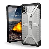"""URBAN ARMOR GEAR UAG iPhone XS Max [6.5"""" Screen] Plasma Feather-Light Rugged [Ice] Military Drop Tested iPhone Case"""