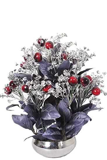 Buy Home decor artificial flowers with pot best quality realistic