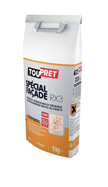 Toupret Enduit De Rebouchage Extérieur Fibre RX Kg Amazon - Enduit de rebouchage exterieur