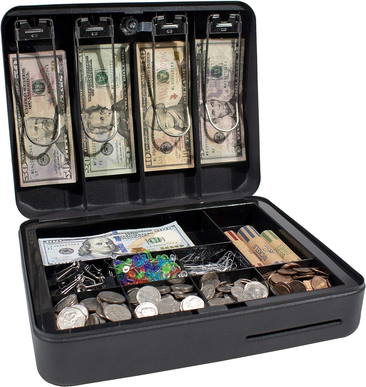 Royal Sobereign Money Manejo Caja de Seguridad Caja de Efectivo (RSCB-300): Amazon.es: Oficina y papelería