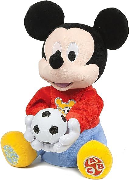 Clementoni Mouse Mickey Baby electrónico tira-juega33x27, Multicolor, 33.3 x 27.2 x 20.8 (65158): Amazon.es: Juguetes y juegos