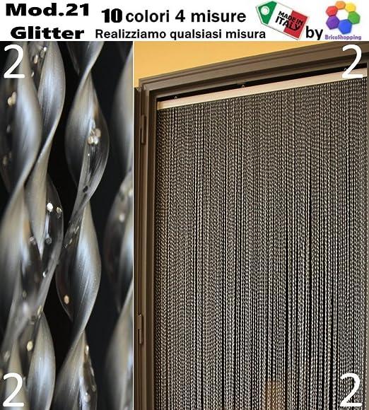 6 opinioni per TENDA MOSCHIERA ZANZARIERA PVC CON GLITTER BRILLANTINI 10 COLORI 4 MISURE MADE
